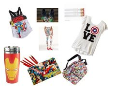 """Marvel queen for school"" by erikagrande ❤ liked on Polyvore featuring Freeze 24-7"