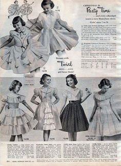 1950s Dresses & Skirts: Styles, Trends & Pictures