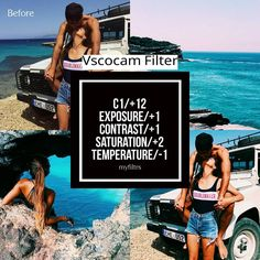 Free Filter❕ [] Filter that goes with summery/tropical pics and kinda good for theming [⏳]Feed Theme Meter:7/10