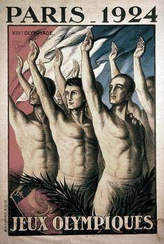 Paris 1924 Olympics Poster