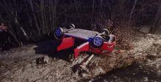 Nedělní sněžení dělalo řidičům problémy. Hasiče v kraji zaměstnaly nehody
