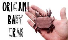 Origami Baby Crab ( Utiliza o Origami Baby White Scorpion CP) - criação Riccardo Foschi - Part 2: Collapsing the base