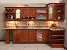 gabinetes para cocina de madera - Buscar con Google