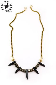 Hen Rise necklace - Victoire Boutique Boutique, Accessories, Jewelry, Jewlery, Jewerly, Schmuck, Jewels, Jewelery, Boutiques