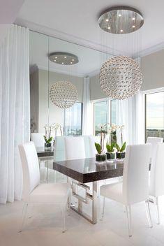 Bay Beach Lane dining room