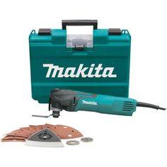 Makita Tool-less Multi-Tool Kit-TM3010CX1 at The Home Depot $159