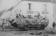 WWI French Saint-Chamond Heavy Tank