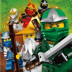 Lego Ninjago: Masters of Spinjitzu toys, movies and gifts for boys and girls.