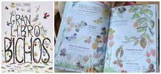 TOP 25 Libros informativos para niños,el gran libro de los bichos