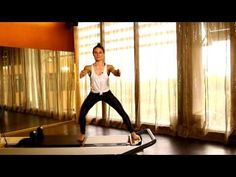 Pilates Reformer: Tone your bum and arms - YouTube