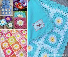 Daisy Blanket Crochet Free Pattern