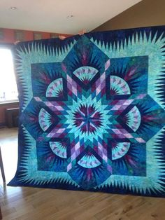 Prairie Star, Quiltworx.com, Made by Janet Spinks.