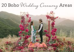 How to Style a Boho Wedding Ceremony | SouthBound Bride