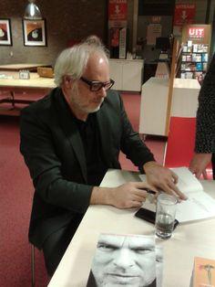 Nico Dijkshoorn in Bibliotheek Vlijmen op 13 november 2014