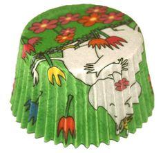 Moomin cupcake liners