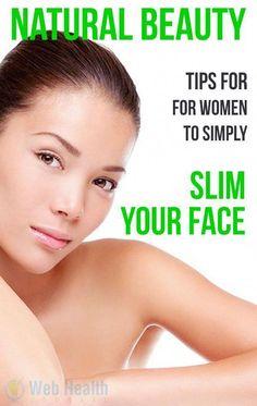 Natural Beauty tips for women to simply slim your face. : #skin_care #SkinWhiteningForMen #BeautyTipsOlderWomen #BeautyHacksForTeens Beauty Tips In Hindi, Beauty Tips For Women, Natural Beauty Tips, Face Care Tips, Skin Care Tips, Reduce Face Fat, Lose Tummy Fat, Lose Fat, Beauty Hacks For Teens