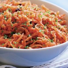 Carrot Salad with Walnut Oil & Honey - FineCooking