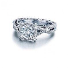 Verragio Twist Shank Diamond Engagement Ring Verragio Engagement Rings, Designer Engagement Rings, Definition Of Insanity, Shank, Ring Designs, Jewelry, Jewlery, Jewerly, Schmuck