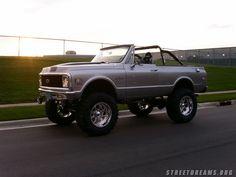 1972 Chevy Blazer 4x4