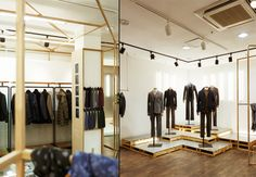 T.I FOR MEN showroom by khanproject, Seoul