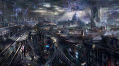 Sci fi city - Pesquisa Google