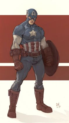 Captain America by Rafael de Latorre