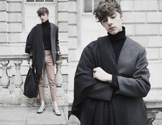 Get this look: http://lb.nu/look/7151444  More looks by Mikko Puttonen: http://lb.nu/mikkoputtonen  Items in this look:  Acne Studios Scarf, Rabbit Hole London Turtleneck, Weekday Jacket, Acne Studios Trousers, Gtie Bag, Acne Studios Shoes