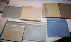 """""""Here are various finishes you can create with Chalk Paint."""""""