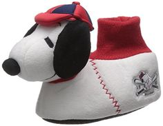 e71e6a59f1 Peanuts Worldwide Peanuts Snoopy Boys Girls Sock Top Slippers (Toddler Little  Kid)