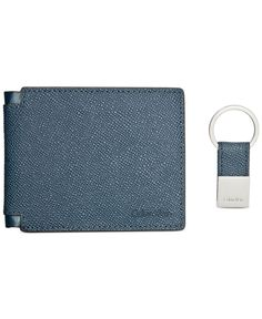 a44bd9e19228 Calvin Klein Billfold   Key Fob Set   Reviews - All Accessories - Men -  Macy s