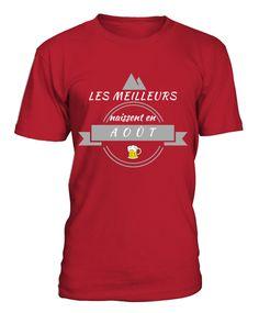 tshirt mois d'août Mens Tops, T Shirt, Fashion, Originals, Supreme T Shirt, Moda, Tee, Fashion Styles, T Shirts