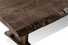 Harden Contract in Booth #10-164 is showing a solid wood Live-Edge Conference Table program offers several wood species and custom options for unique conference table option.