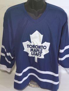 Vintage Toronto Maple Leafs Mens Size Medium Starter Hockey Jersey #Starter #nhl #TorontoMapleLeafs
