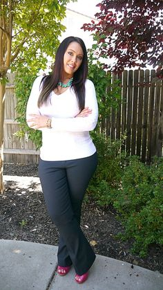 Curvy Girl Fashion: 40 Plus Size Outfits | http://fashion.ekstrax.com/2014/02/curvy-girl-fashion-40-plus-size-outfits.html