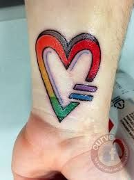 Equal Rights Tattoo