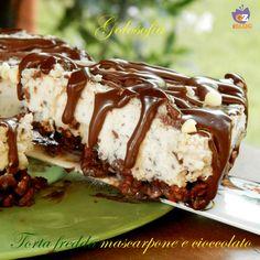 Torta fredda mascarpone e cioccolato, ricetta senza cottura