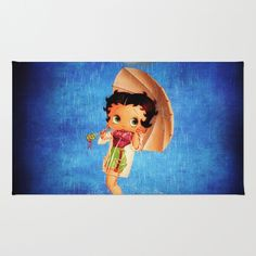 Betty Boop Area & Throw Rug