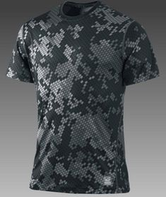 Nike Pro Combat Core Fitted Camouflage Men s Shirt b6d113834