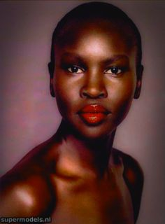 Alek Wek  Alek Wek (born 16 April 1977) is a South Sudanese British model and designer who began her fashion career at the age of 18 in 1995. As the first black model whose looks did not conform to Caucasian aesthetics she has been hailed for her influence on the perception of beauty in the fashion industry. She is from the Dinka ethnic group in South Sudan but fled to Britain in 1991 to escape the civil war in Sudan. She currently lives in Brooklyn New York.  Early life Wek was born in Wau…