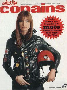 Françoise Hardy : Salut Les Copains, magazine cover, 1966