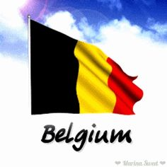 Animated flag of Belgium