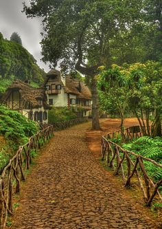 Madeira village-Portugal