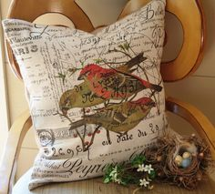Gathered Comforts makes the prettiest pillows. I need this one to go with my other one.