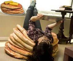 I will never ever ever spend that kind of money on some damn pancake pillows, but they're cool nonetheless.