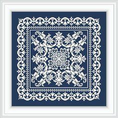 Ornament square DESI-Cross stitch pattern-instant download Cross Stitching, Cross Stitch Embroidery, Embroidery Patterns, Hand Embroidery, Cross Stitch Designs, Cross Stitch Patterns, Monochrome, Cross Stitch Numbers, Mandala