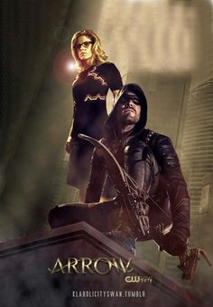 """""""Couples who fight crime together, stay together""""--not my line """"I've heard relationships based off of intense circumstances never work out. Dc Tv Series, Arrow Tv Series, The Cw Shows, Dc Tv Shows, Arrow Cw, Team Arrow, Green Arrow, Arrow Comic, Arrow Oliver And Felicity"""