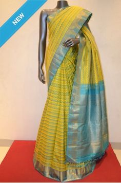 Kanjeevaram Silk Saree With Colorful Weaving Prints Product Code: AB204687 Online Shopping: http://www.janardhanasilk.com/Saree-Collections/Kanjeevaram-Silk-Saree/Kanjeevaram-Silk-Saree-With-Colorful-Weaving-Prints?limit=25