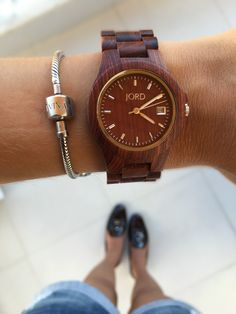 Wood Watches by JORD - Love!!!