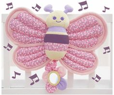 Little Bird Told Me Billowy Butterfly Music & Lights Cot Toy Suitable From Birth for sale online Cot Toys, Baby Toys, Butterfly Music, Travel Systems For Baby, Presents For Kids, Light Music, Soft Furnishings, Parenting Advice, Twinkle Twinkle