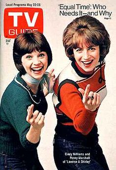 TV Guide May 1976 (Cindy Williams and Penny Marshall of Laverne and Shirley; Election Equal Time, Who Needs It and Why; Archie Comics, My Childhood Memories, Best Memories, Penny Marshall, Cindy Williams, Laverne & Shirley, Nostalgia, Plus Tv, She Wolf